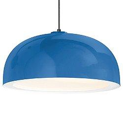 Dome Outdoor Pendant (Blue/16 inch) - OPEN BOX Return