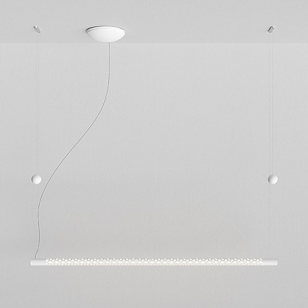Squiggle LED Linear Suspension Light