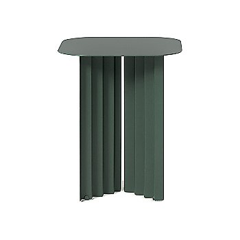 Green color / Steel finish