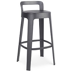 Ombra Stool with Backrest