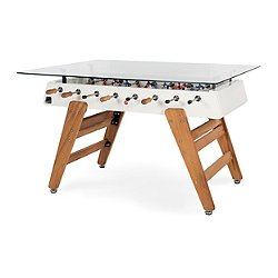 RS3 Foosball Table/Rectangular Wood Dining Table