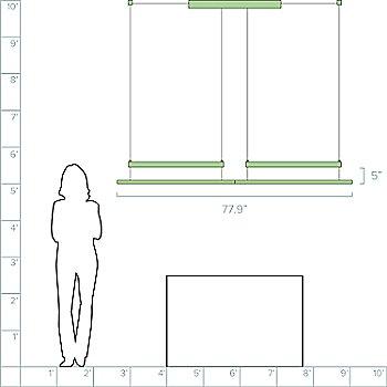 2 Modules / 77.9 inch