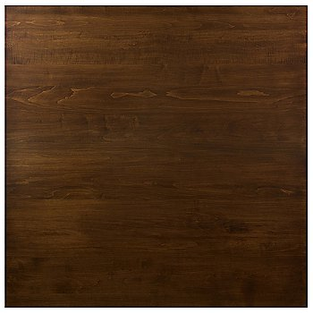 Eased Square with Walnut finish