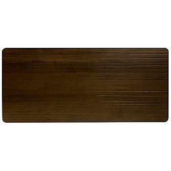 Strata Rectangle with Walnut finish