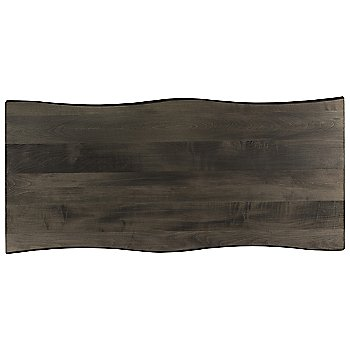 Shown in Wave Edge Rectangle with Nantucket finish