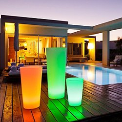 Tango XL Lighted Planter