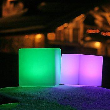illuminated / in use
