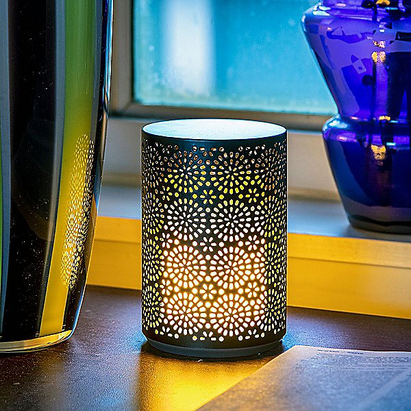 Dancing Flame LED Rechargeable Table Lamp