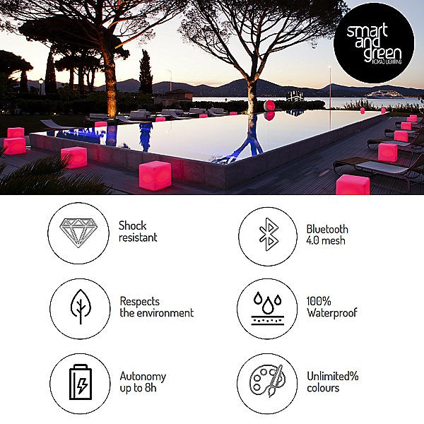 Globe Bluetooth LED Indoor/Outdoor Lamp