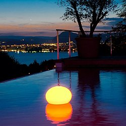 Flatball XXS Floating LED Indoor / Outdoor Lamp