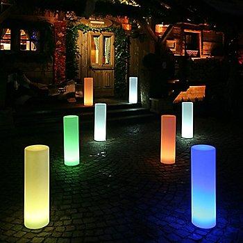 Translucent White / in use / illuminated