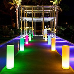Tango Lighted Planter