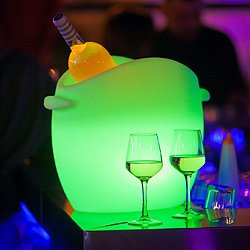 Fresh Bluetooth LED Champagne Cooler