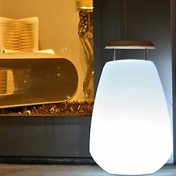 Translucent White, illuminated