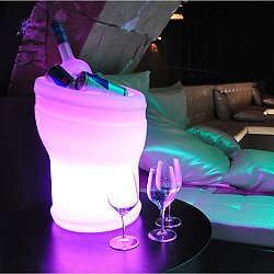 Illuseo Bluetooth LED Champagne Cooler