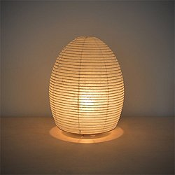 Paper Moon Egg Table Lamp - OPEN BOX RETURN