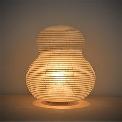 Paper Moon Gourd Table Lamp
