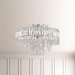 Triandra Semi-Flush Mount Ceiling Light