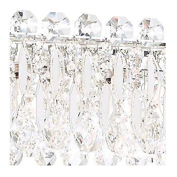 Antique Silver finish / Swarovski Crystal Type, detail