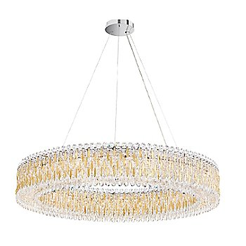 Heirloom Gold finish / Spectra Crystal / Large size