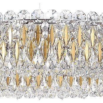 Heirloom Gold finish / Swarovski Crystal , detail