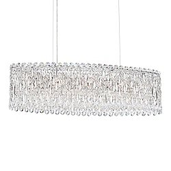 Sarella Oval Linear Suspension Light