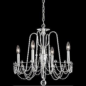 Polished Silver finish / Heritage Crystal / Medium size