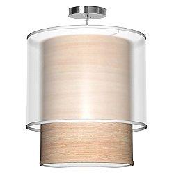 Lumiere Pendant Light (Natural Veneer/16 inch) - OPEN BOX RETURN