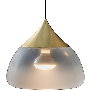 Shown in Matte Brass, Large size