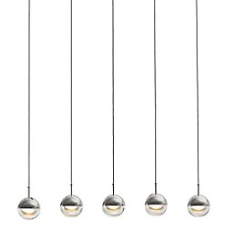 Dora PL5 LED Linear Suspension Light