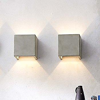 Concrete Gray finish, illuminated