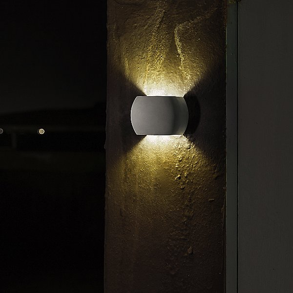 Castle R Outdoor LED Wall Sconce