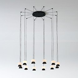 Fuji LED Multi Light Pendant Light