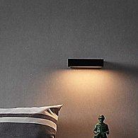 Mumu LED Wall Sconce by Seed Design (Black)-OPEN BOX RETURN