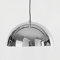 Dome Pendant by Seed Design (Chrome/Small) - OPEN BOX RETURN