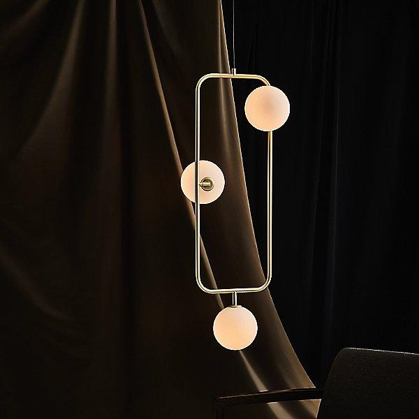 Sircle Triple Pendant Light