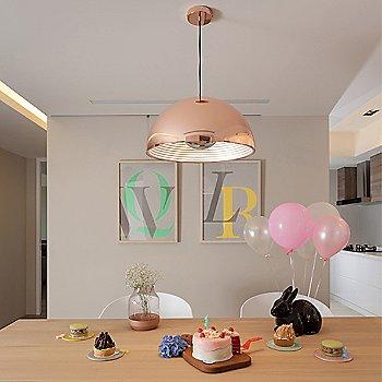 Copper finish / illuminated / in use