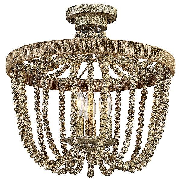 Ava Semi-Flush Mount Ceiling Light