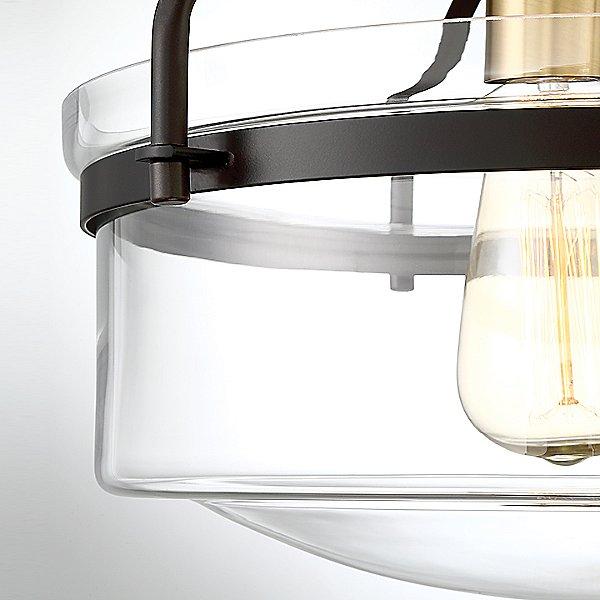 Diesal Semi-Flush Mount Ceiling Light
