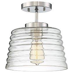 Zander Semi-Flush Mount Ceiling Light