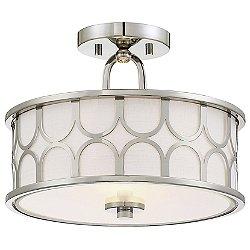 Lou Semi-Flush Mount Ceiling Light