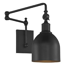 Francis Swing-Arm Wall Sconce