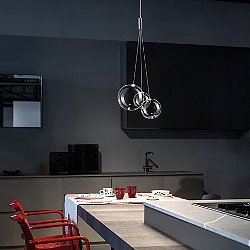 Random Multi Light Pendant Light