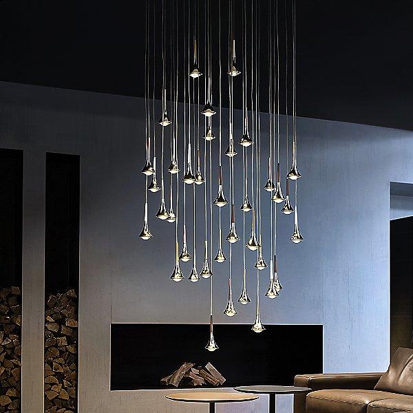 Rain Large Multi Light Pendant Light