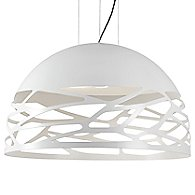 Kelly Dome Pendant (Matte White/Large) - OPEN BOX RETURN