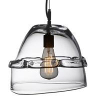Glass Round Pendant Light