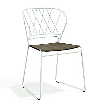 Shown in White with Sunbrella Beige Seat color
