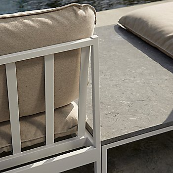 Light Grey Sunbrella Ashe / Light Grey frame finish