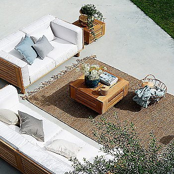 Pictured with the Skanor Lounge Table and the Skanor 3 Seater Sofa (sold separately)