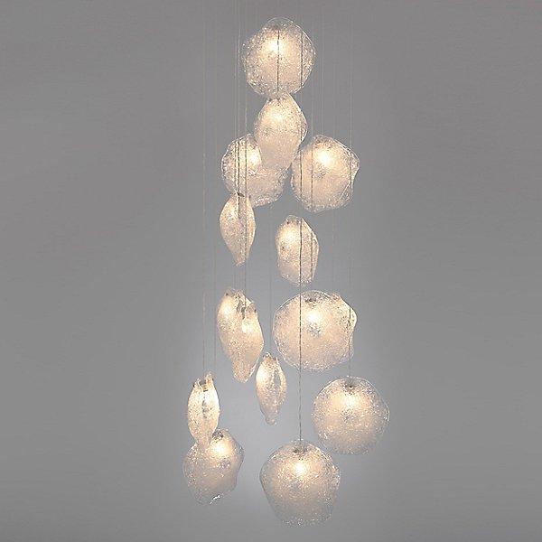 Crystal Shell Mini Pendant Light